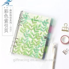 Colorful kawaii notebook and personalized notebook