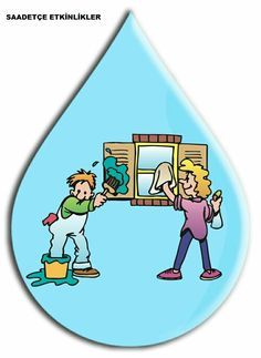 Special Education Activities, Nature Activities, Youth Activities, Planet Crafts, Water Day, Water Cycle, Classroom Projects, School Decorations, Earth Day