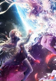 Mahou Shojo Madoka Magica : Pin to Anime Illustration [Aikaterina Vangelis / Aika Vii]