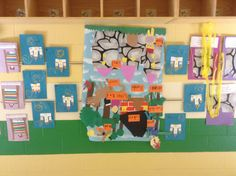 Rapunzel, castles, Princess  Pea, and Europe/Fairy Tale mural. CCSS5