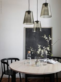 From sleek and circular brass lampshades to free-standing bulb fixtures, take inspiration from these five serene spaces and elevate your home with lights.  View the Original...