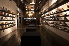 Atrium & Kith store, New York store design