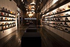 Atrium & Kith store, New York store design