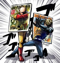 One Punch Man - Saitama&Genos covers