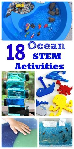 Love these ocean science & math activities for kids! Great for learning about sharks, whales, ocean zones and more. Love these ocean science & math activities for kids! Great for learning about sharks, whales, ocean zones and more. Shark Activities, Science Activities For Kids, Preschool Activities, Science Experiments, Camping Activities, Stem Science, Stem Activities For Kindergarten, Summer Science, Beach Activities