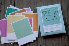 Polaroid Postcards Pack of 25 Face it Cards Fun por FaroStore