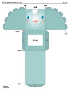 bunny printable 3d
