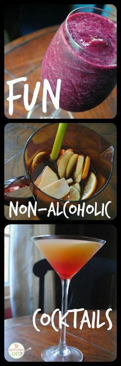 There are some seriously fun mocktails out there if you are nixing the alcohol!