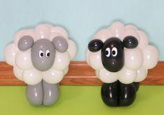 Sheep Balloon Arch | THAT Balloons