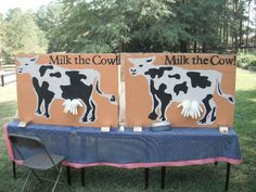 Milk the cow game