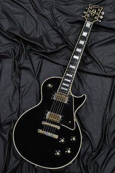 Gibson 1968 Les Paul Custom. My favorite Guitar.