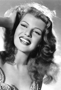 the beautiful Rita Hayworth
