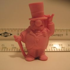 W.C. Fields pencil eraser. We got these out of bags of Frito Lays.