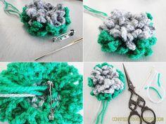 Connys Cottage: DIY crochet flower easy