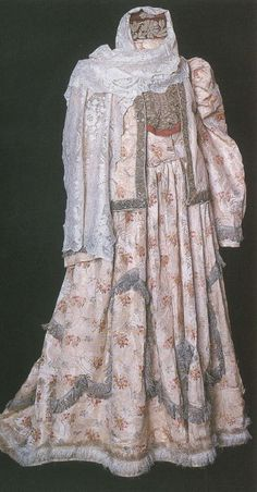 National Tatar costume late XIX - early XX centuries. Wedding suit