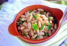 pressure cooker bean salad with quick-soaked beans