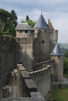Carcassonne (Aude).  Some scenes of Robin Hood, starring Kevin Costner, were filmed in Carcassonne.