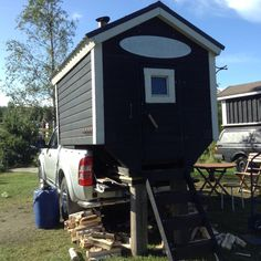 82 Mobile saunas of Finland – Ruusis Mobile Sauna, Building A Sauna, Sauna House, Wood Fuel, Small Trailer, Land Use, Saunas, Number Two, Heating Systems