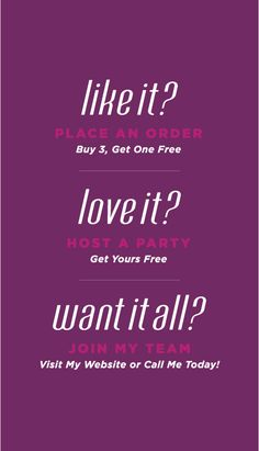 Like, Love It, Want It All? Back of Business Card  http://jamminbydesign.jamberrynails.net