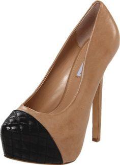 Steve Madden Women's Beauty-L Platform Pump - I wish the platform wasn't so high :(