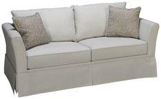 Klaussner Home Furnishings-Taylor-Klaussner Home Furnishings Taylor Full Sleeper Loveseat with Memory Foam Mattress - Jordan's Furniture