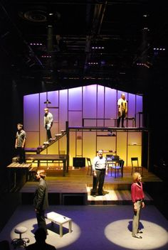 Resultado de imagen de next to normal set design