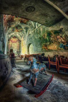 Abandoned castle, Poland