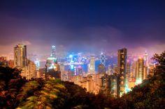 Victoria Peak - Hong Kong (byCarl Nenzén Lovén) IFTTT Tumblr