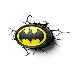 Batman Deco Night Light perfect for Avengers fans. Images Batman, Batman Pictures, 3d Logo, Fotos Do Batman, Batman Lamp, Batman Room Decor, Logo Batman, 3d Deco Light, Dc Comics