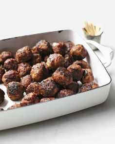Super Bowl // Cocktail Meatballs Recipe