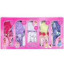 Dream Dazzlers 5-in-1 Party Dress Up Set - Child Size 3-6 Years