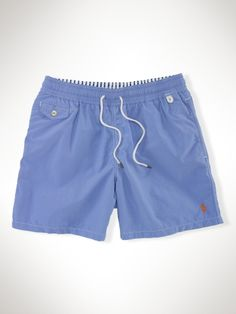 "Traveler 6"" Solid Swim Short - Polo Ralph Lauren Swim - RalphLauren.com"
