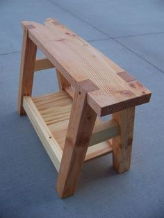 Saw Bench - by cdkoch @ LumberJocks.com ~ woodworking community #WoodworkingTools #WoodworkingBench