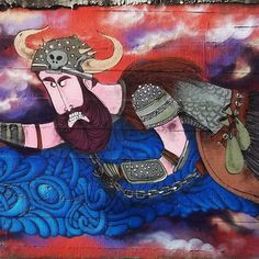 More details of the work, place and artist: http://streetartrio.com.br/artista/caze/compartilhado-por-cazesawaya-em-aug-02-2015-0007/ / #barbudinho #cazesawaya #character #characterdesign #howtotraineedragon #streetartphoto #streetartrio #tijuca #streetphotography #buildinggraffiti #graffitiart #art #streetart #handmade #street #graff #urban #wallart #spraypaint #aerosol #spray #wall #mural #murals #painting #arte #color #streetartistry #artist #grafiti #urbano #rue #guerillaart