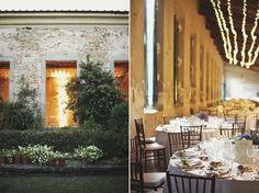 Italian wedding decor