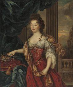 Pierre Mignard - Marie-Thérèse de Bourbon, Princesse de Conti