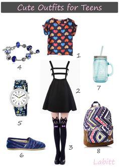 School Outfits for Teen Girls Moda Kpop fc56a16b093