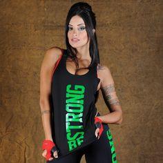 Camiseta Fitness Corte Laser Preta Be Strong no Atacado - HoneyBe - honeybe  Lojas Virtuais De cadf7fb6f30