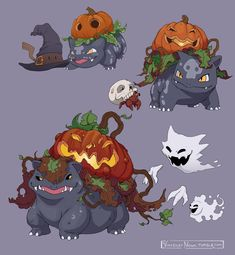 Tagged with art, pokemon, halloween, vince marcellino, vincenzo nova; Halloween Themed Pokemon by Vincenzo Nova Pokemon Comics, Pokemon Memes, Pokemon Legal, Oc Pokemon, Pokemon Breeds, Pokemon Funny, How To Breed Pokemon, Pokemon Cards, Pokemon Bulbasaur