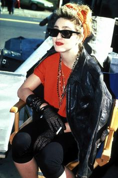 80s fashion!