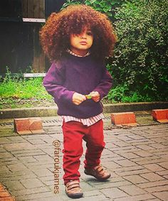 {Grow Lust Worthy Hair FASTER Naturally} I Want This Little One AND His Hair!!!! http://www.shorthaircutsforblackwomen.com/black-hair-growth-pills/