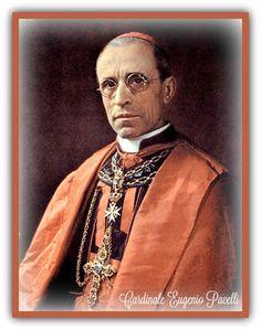 La Santissima Eucaristia: La (terribile) profezia del card. Pacelli, futuro Papa Pio XII
