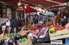 Ballaro market , Palermo