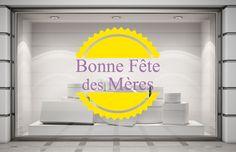 Sticker adhésif Logo Fête des Mères