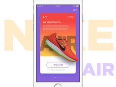 Nike Promotion Ads — Parallax Effect