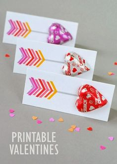 Ready or not, Valentine's Day is just around the corner! Here are some great DIY Valentine Cards. Valentine's Day Crafts For Kids, Valentine Crafts For Kids, Valentines Day Party, Happy Valentines Day, Valentine Gifts, Valentine Ideas, Printable Valentine Cards, Valentines Hearts, Children Crafts