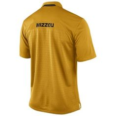 2013 #Mizzou #Football Coaches Polo - Gold - ($65)