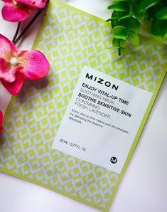 Mizon Enjoy Vital-Up Time Soothing Mask review