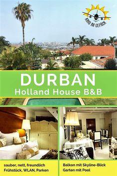 #südafrika Eine Übernachtungsempfehlung in einem B&B in #durban. Perfekt für Paare und #Familien#familienurlaub. Mit Swimmingpool, Garten und Balkon mit grandiosem Blick über die Stadt.