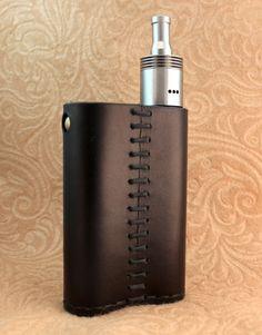 Custom Leather Vapor Flask Sleeve Case Wrap Skin by SillyNilly